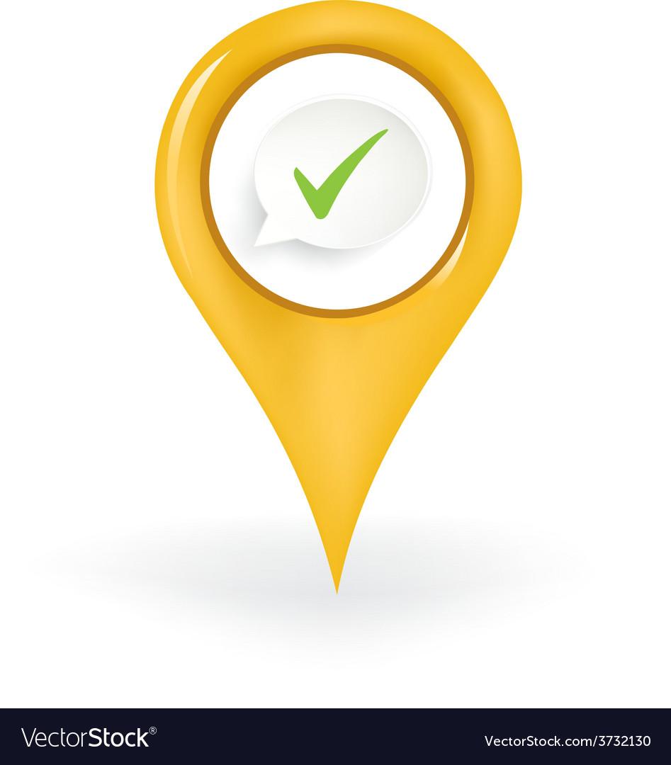 Correct location vector | Price: 1 Credit (USD $1)