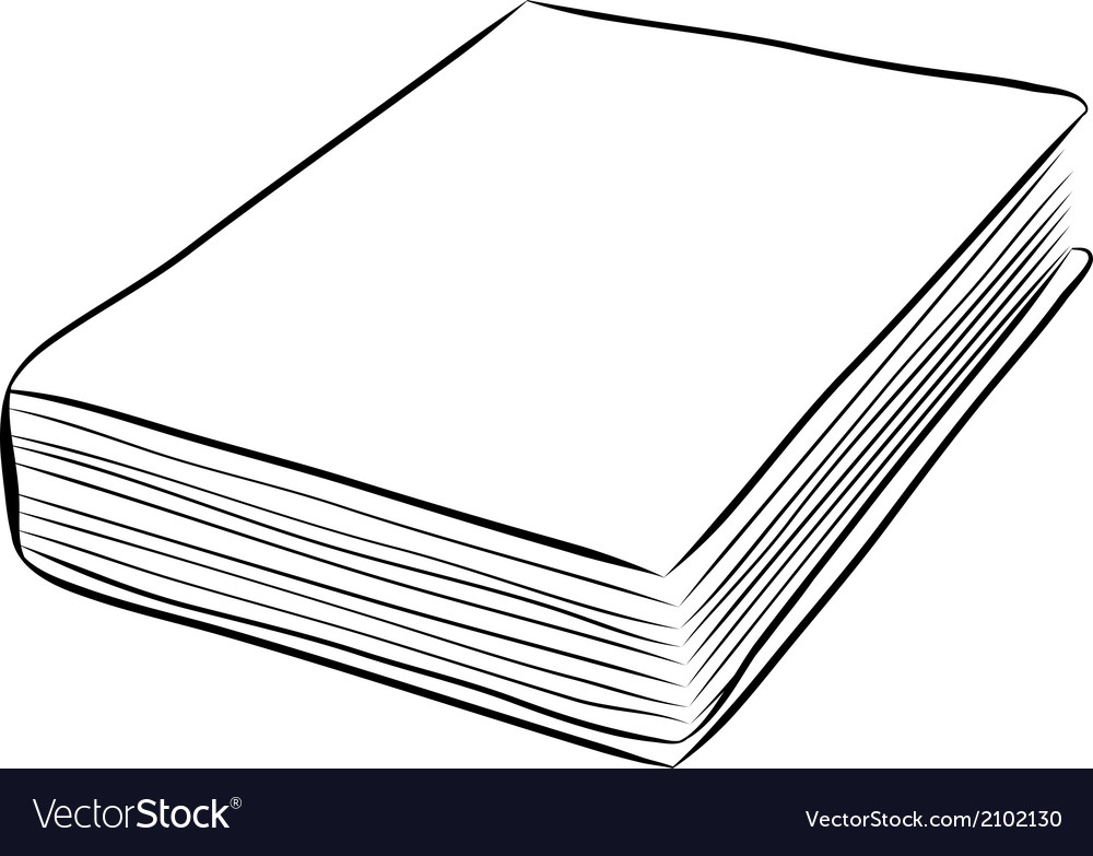 Cover book hand draw vector | Price: 1 Credit (USD $1)
