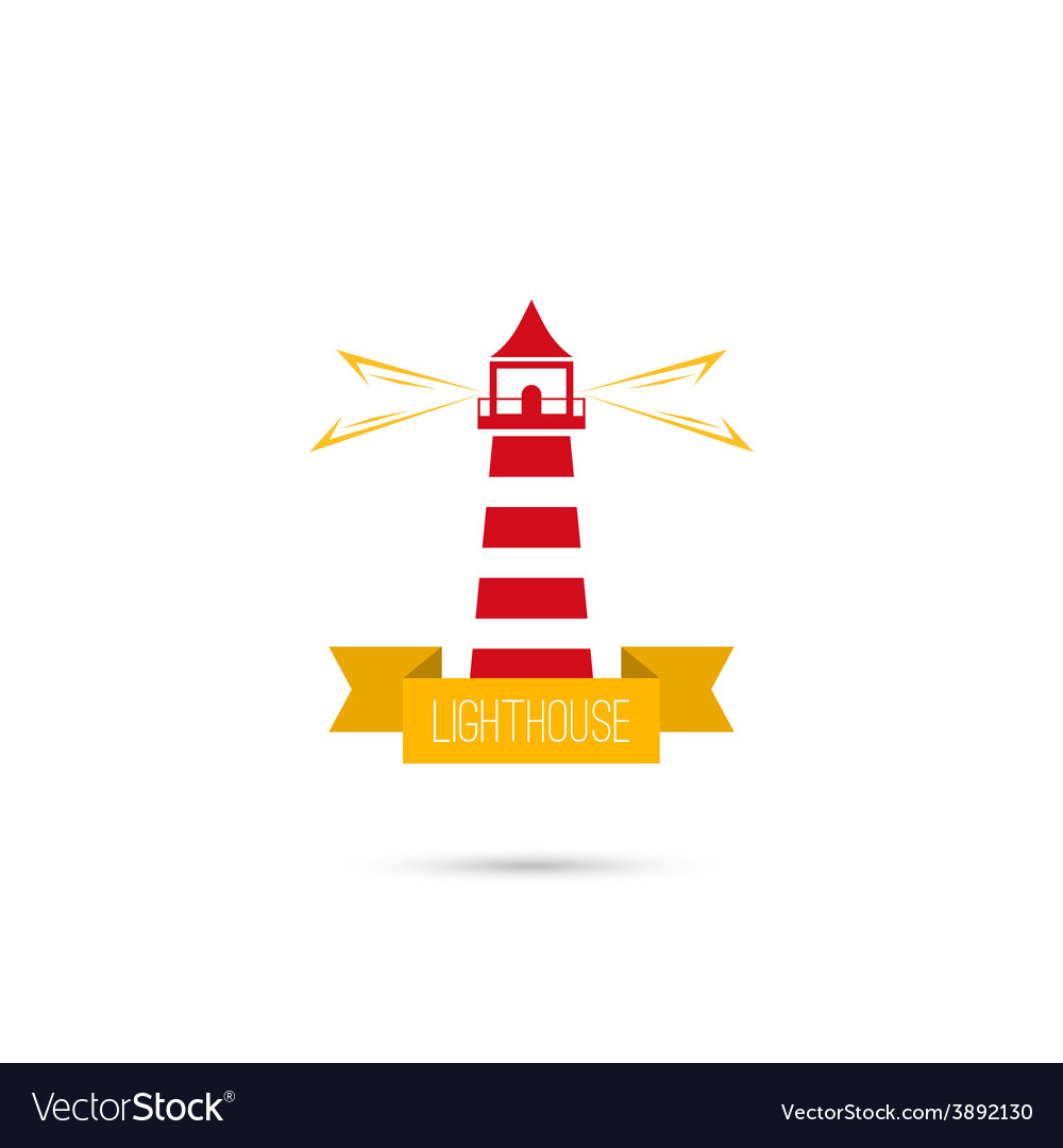 Icons lighthouse vector | Price: 1 Credit (USD $1)