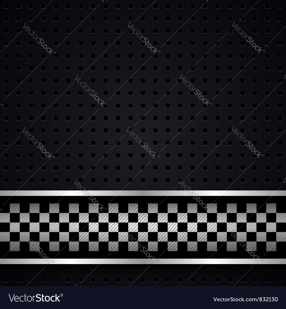 Structured dark metallic perforated for race sheet vector | Price: 1 Credit (USD $1)