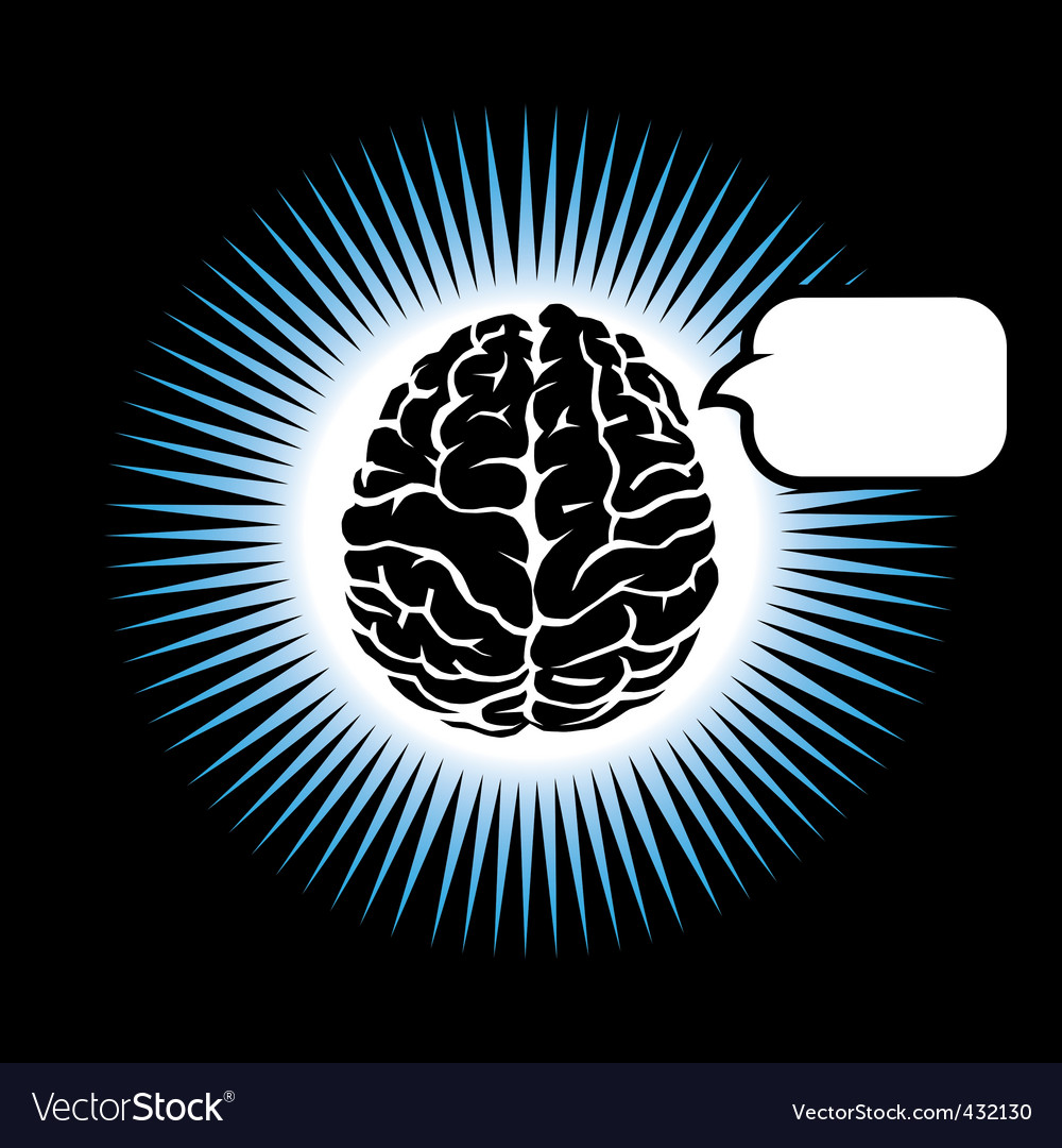 Symbol brain vector | Price: 1 Credit (USD $1)