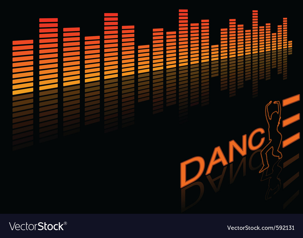 Dance equalizer vector | Price: 1 Credit (USD $1)