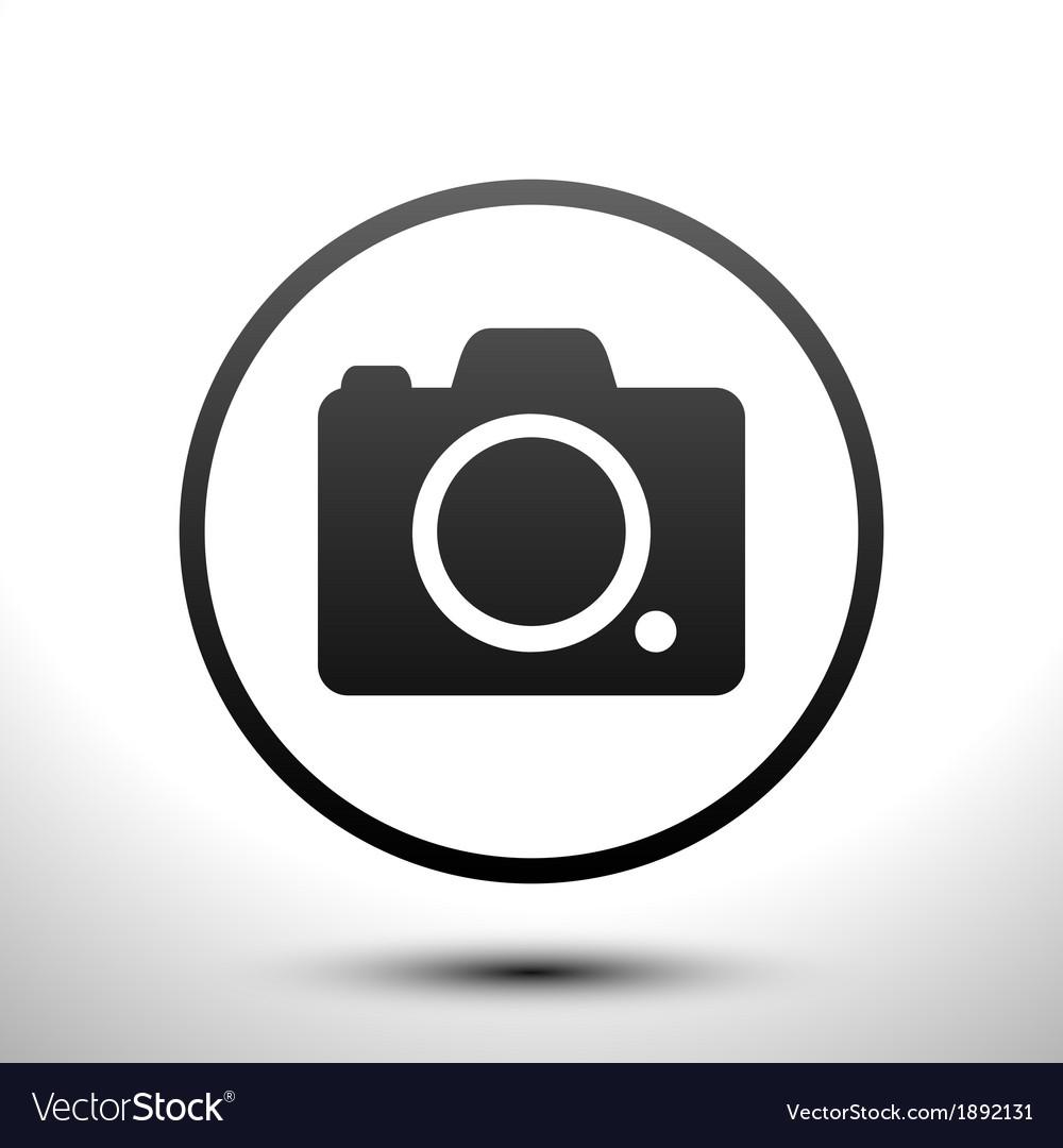 Icon camera vector   Price: 1 Credit (USD $1)