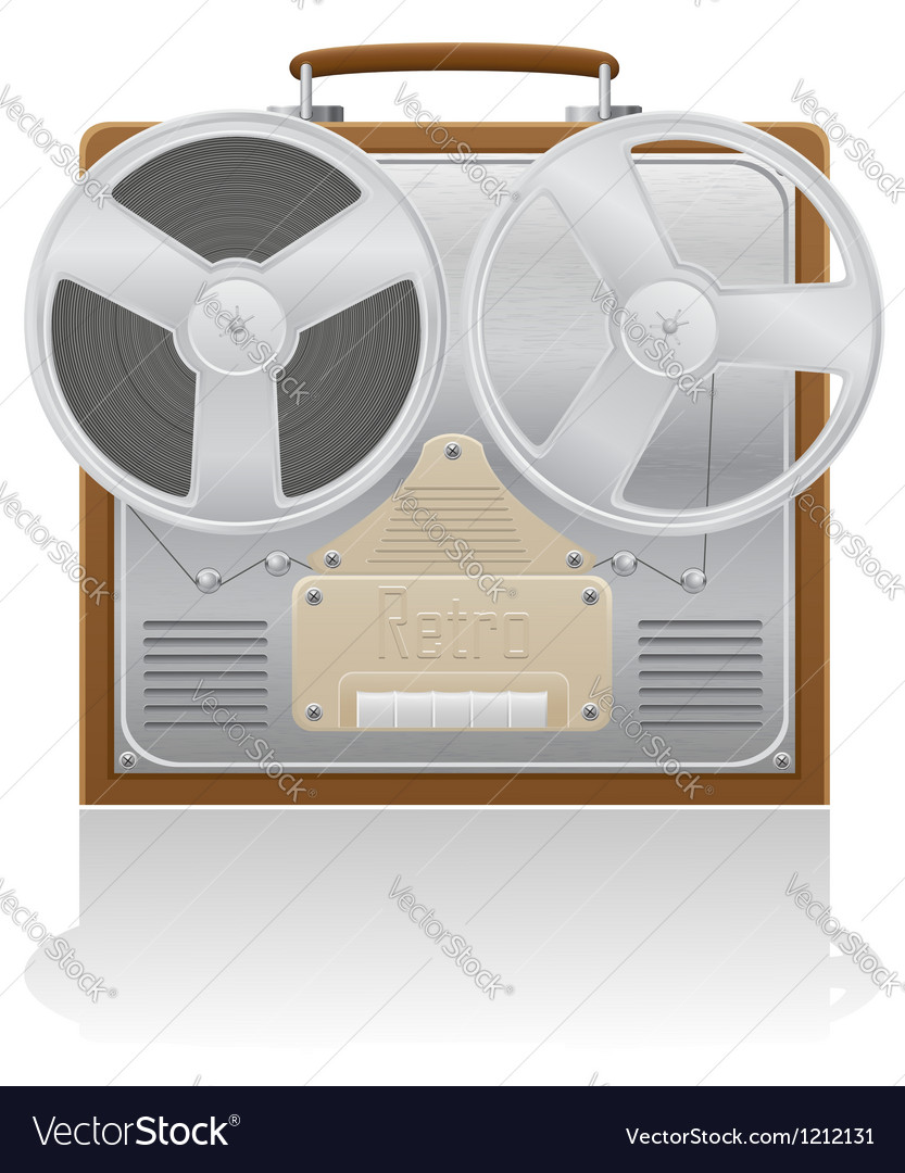 Old recorder 01 vector | Price: 3 Credit (USD $3)