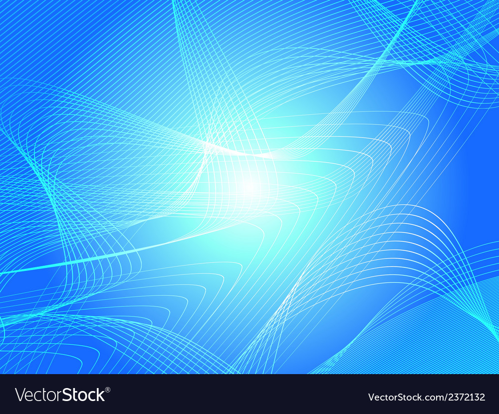 Abstract blue rosette background vector | Price: 1 Credit (USD $1)