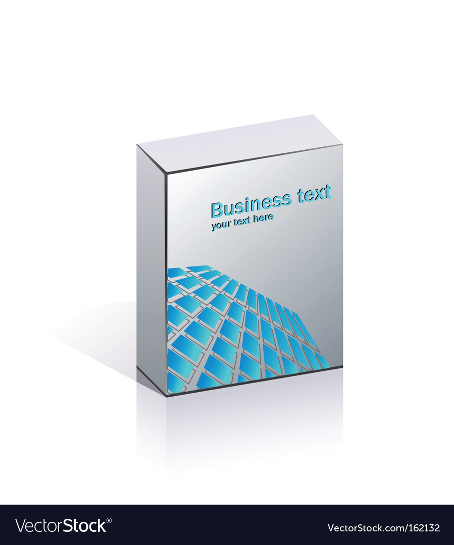 Blank business packing vector | Price: 1 Credit (USD $1)