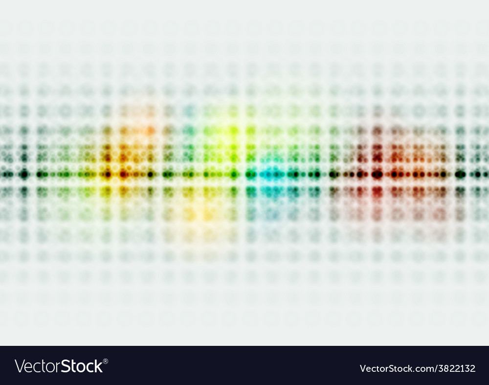 Bright colorful hi-tech circles background vector | Price: 1 Credit (USD $1)