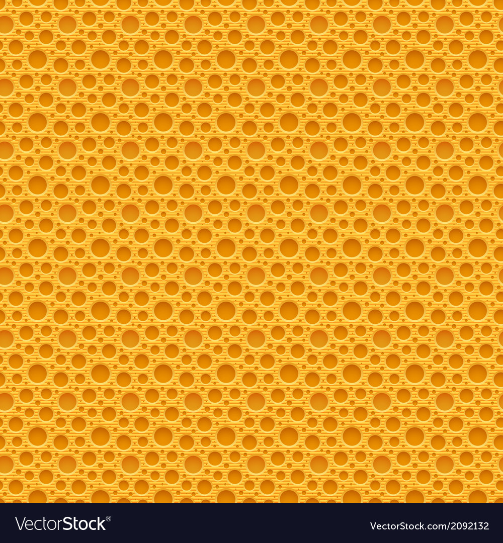 Yellow seamless plastic background vector | Price: 1 Credit (USD $1)