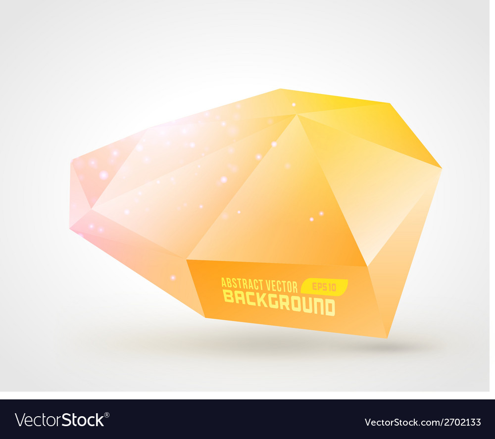Abstract geometric 3d shape color background vector   Price: 1 Credit (USD $1)