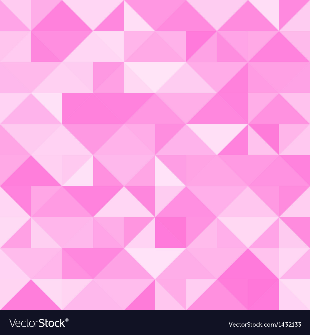 Abstract pink triangle background vector | Price: 1 Credit (USD $1)