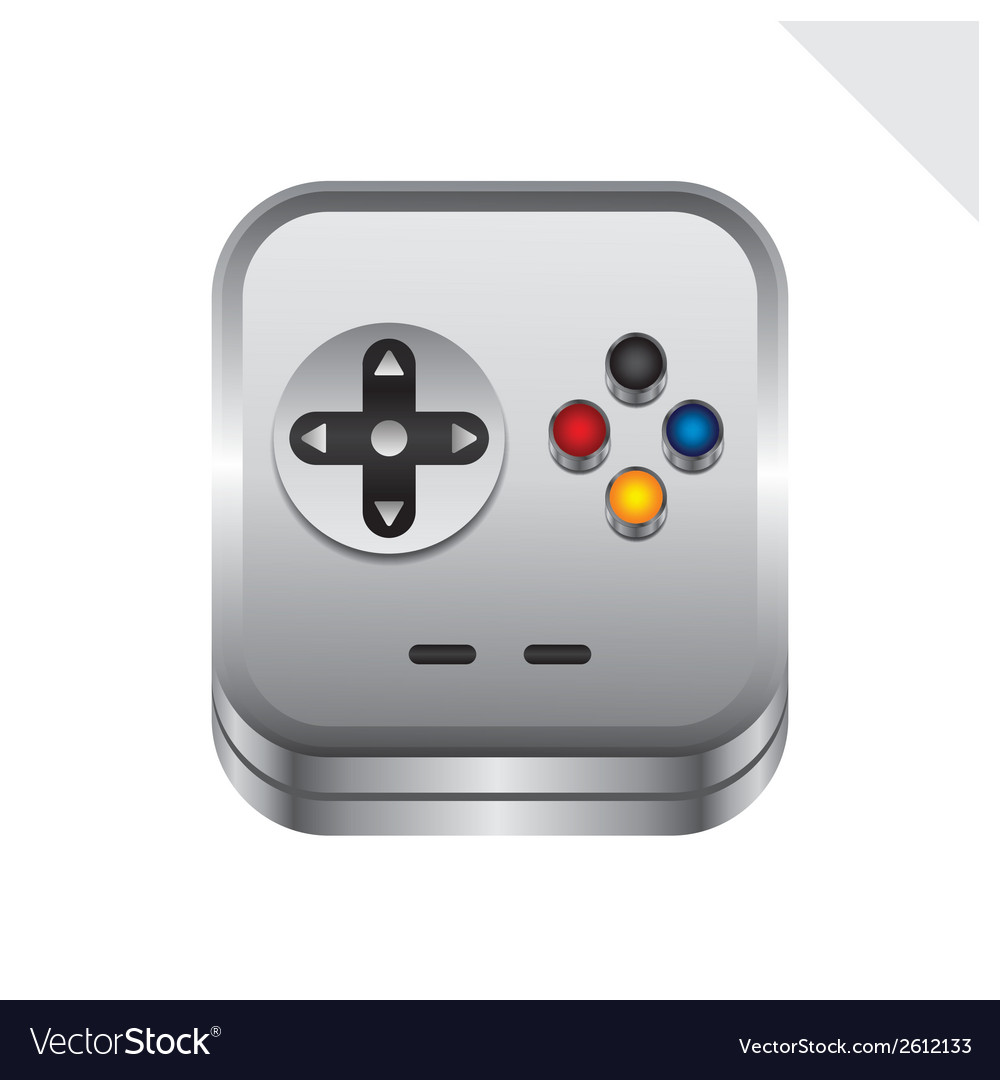 Game controller vector | Price: 1 Credit (USD $1)