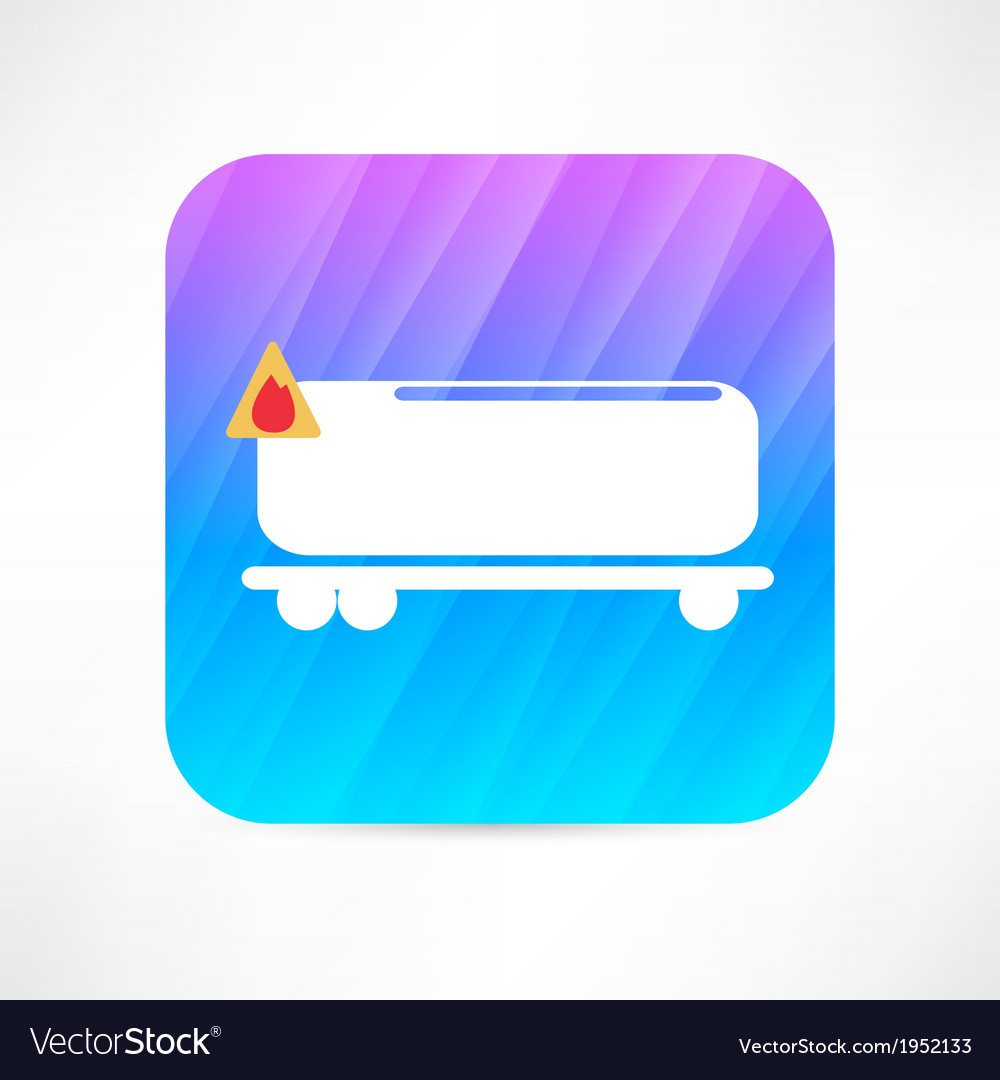 Tank car icon vector | Price: 1 Credit (USD $1)