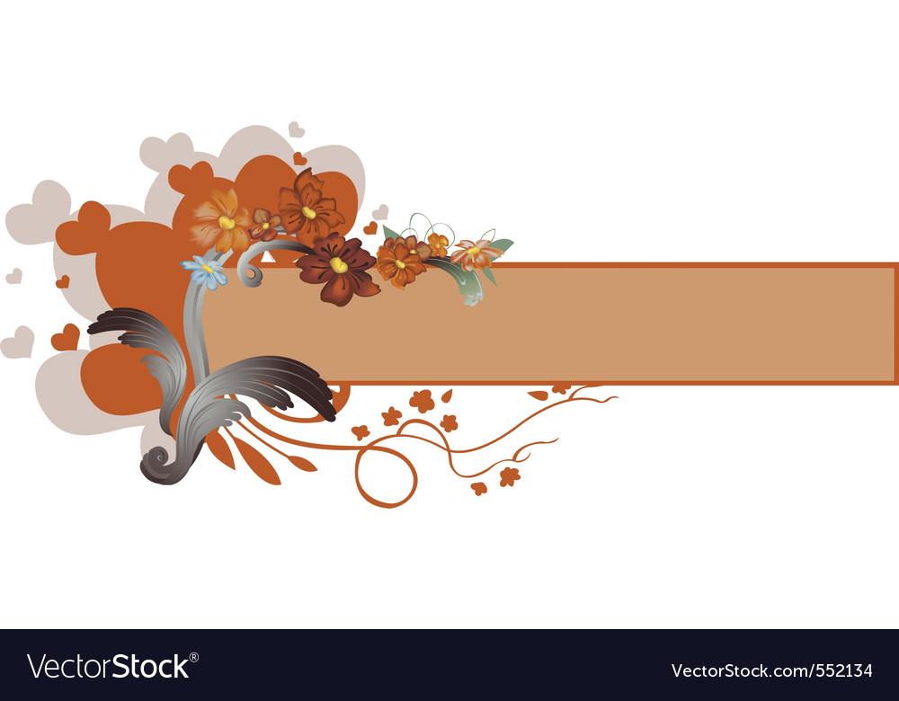 Elegant floral border vector   Price: 1 Credit (USD $1)