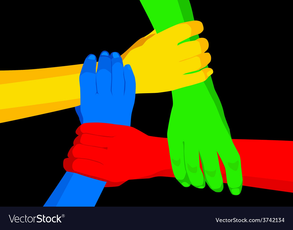 Unity in diversity vector | Price: 1 Credit (USD $1)