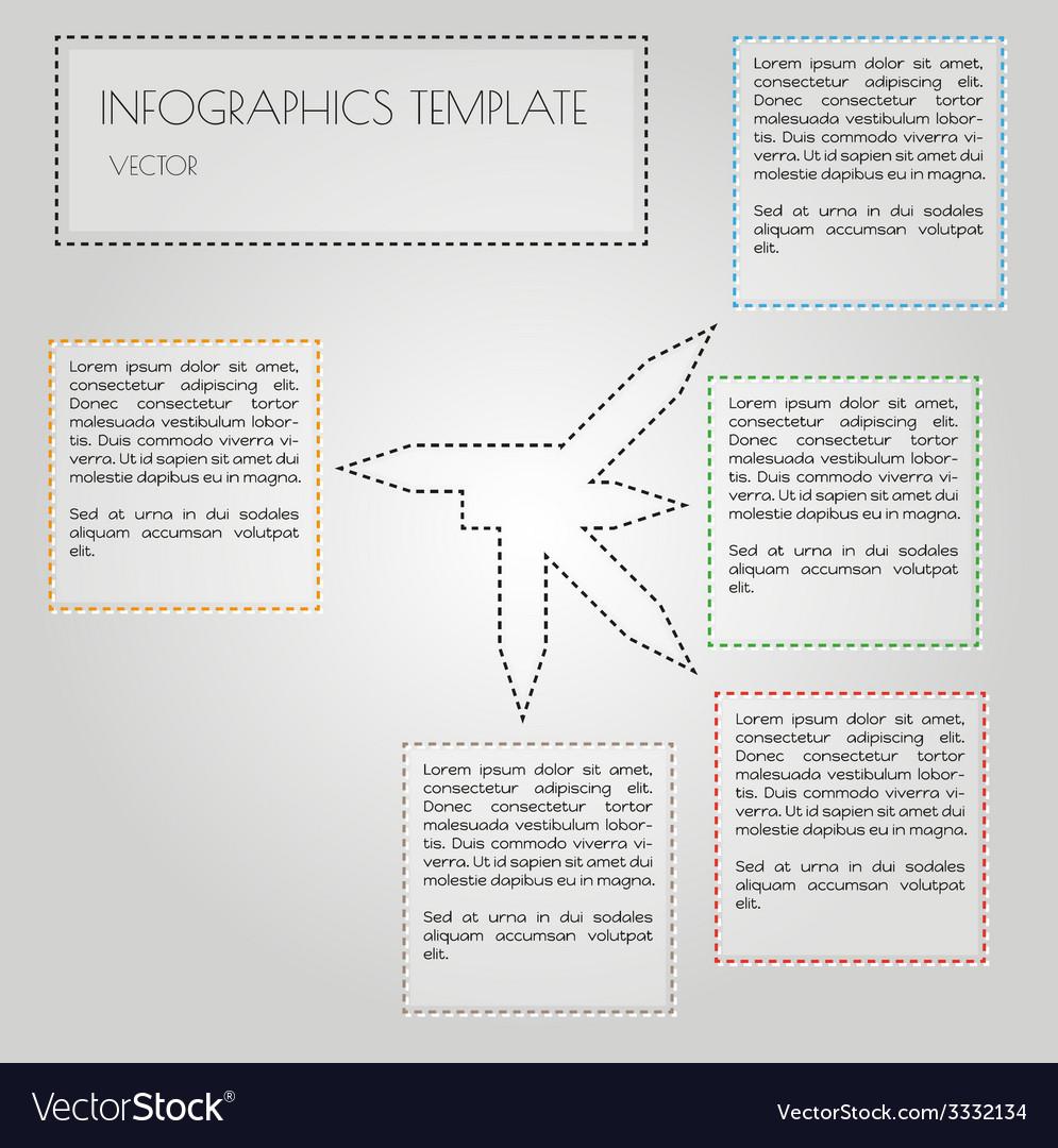 White infographics vector | Price: 1 Credit (USD $1)