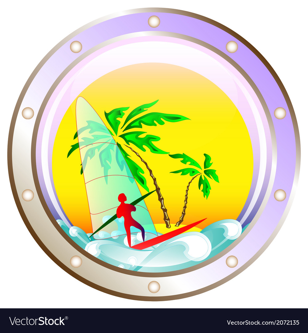 Background on vacation at sea vector   Price: 1 Credit (USD $1)