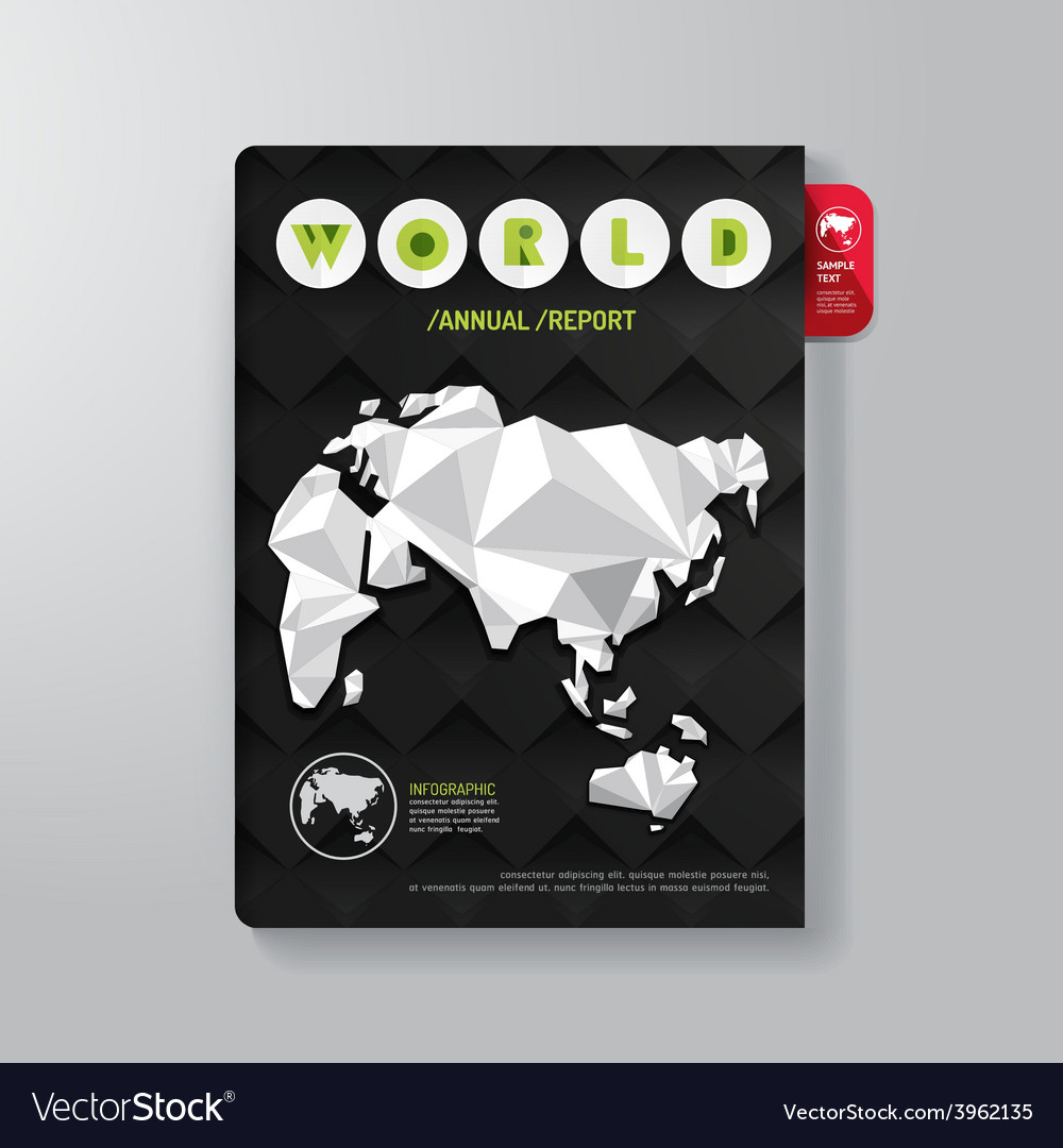 Cover book digital design minimal style template vector | Price: 1 Credit (USD $1)