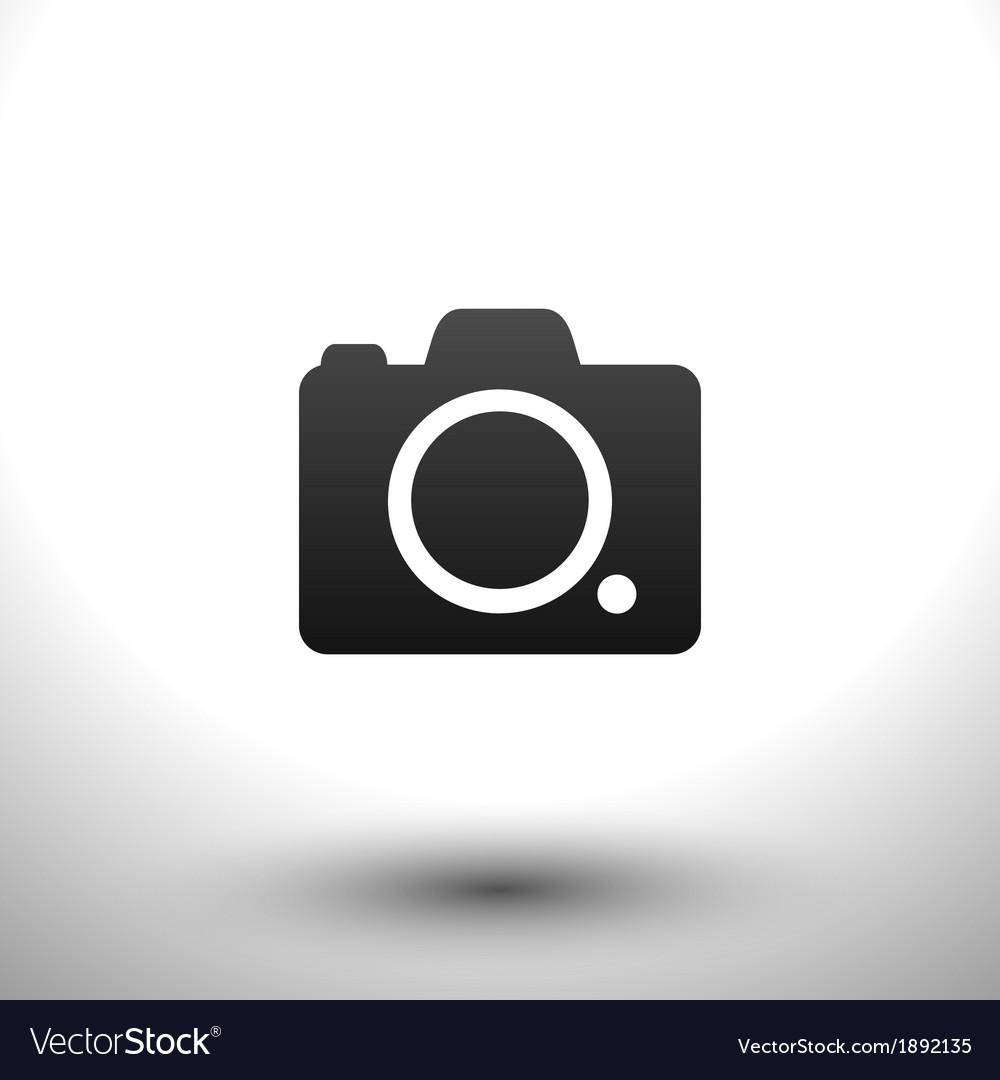 Icon camera vector | Price: 1 Credit (USD $1)