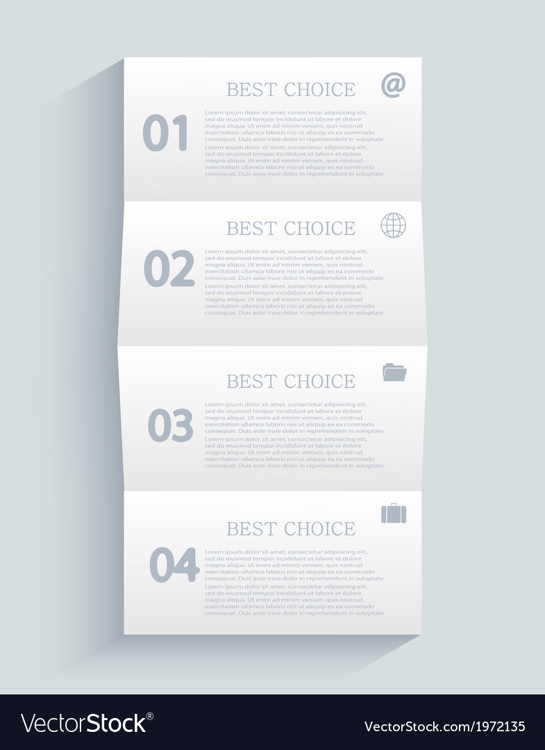 Modern infographic element design eps 10 vector   Price: 1 Credit (USD $1)