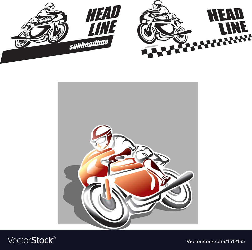Motorbike logo vector | Price: 1 Credit (USD $1)