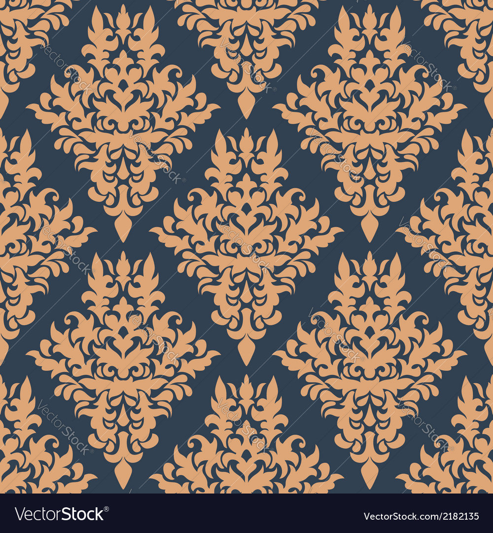 Retro dainty seamless pattern vector | Price: 1 Credit (USD $1)