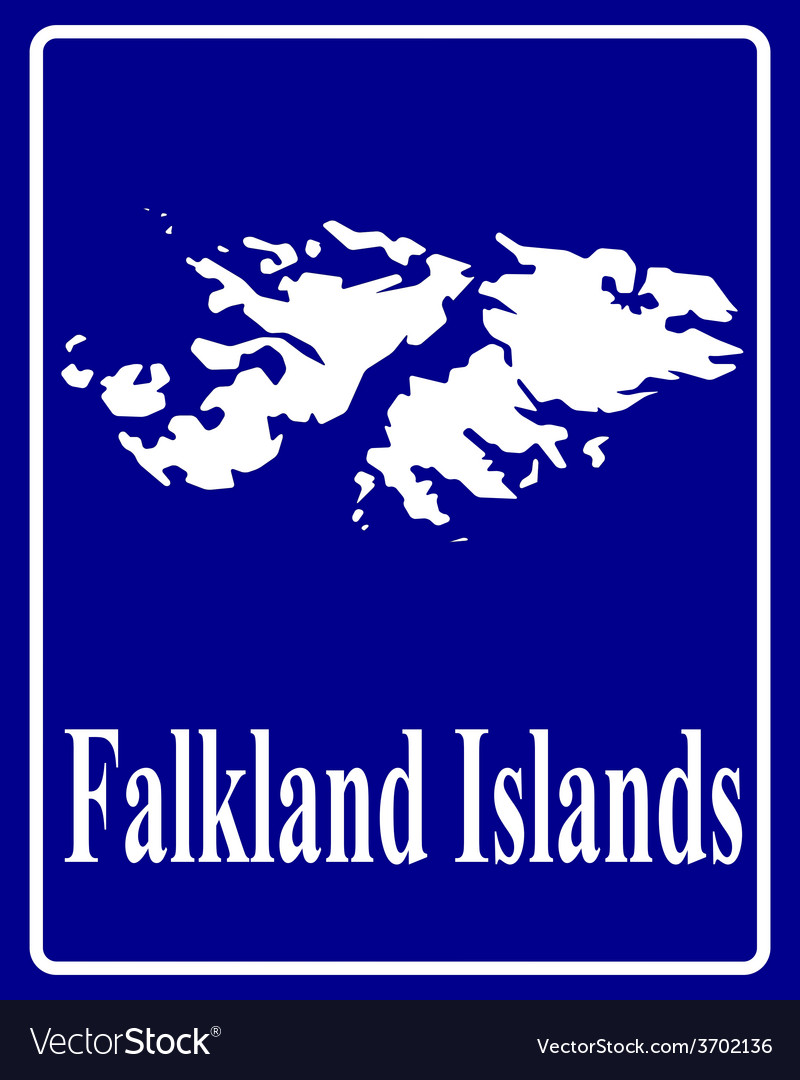 Falkland islands vector | Price: 1 Credit (USD $1)