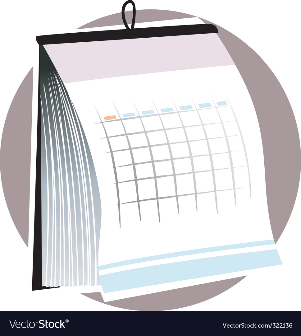Planner vector | Price: 1 Credit (USD $1)