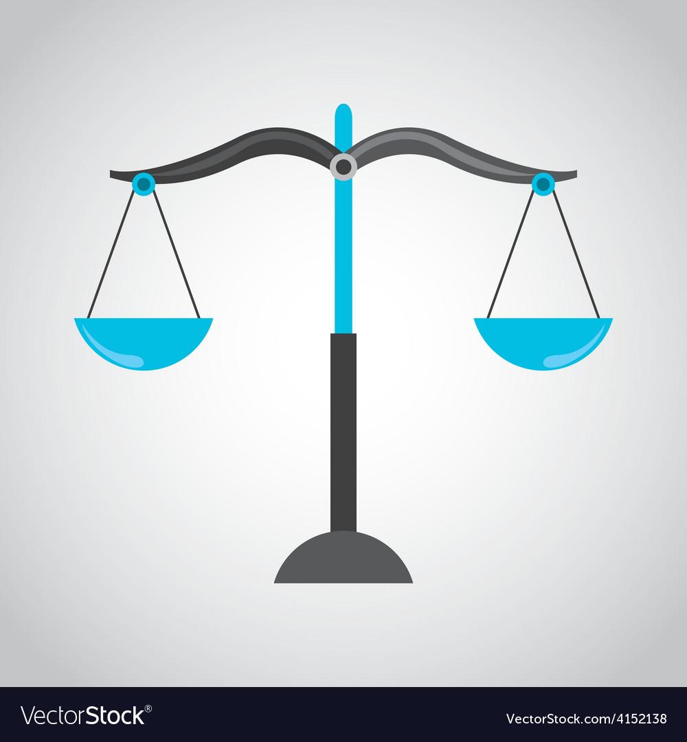 Balance icon vector   Price: 1 Credit (USD $1)