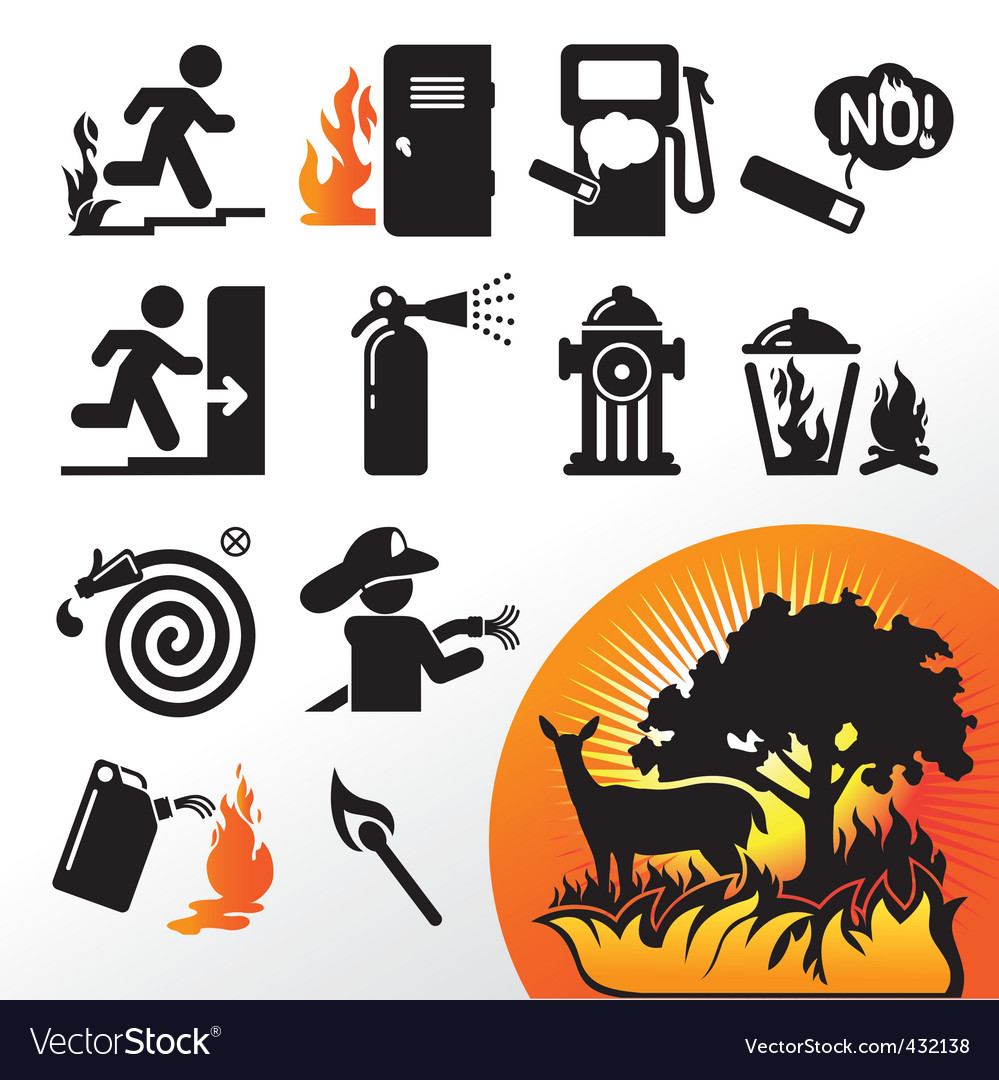 Symbol fire vector | Price: 1 Credit (USD $1)