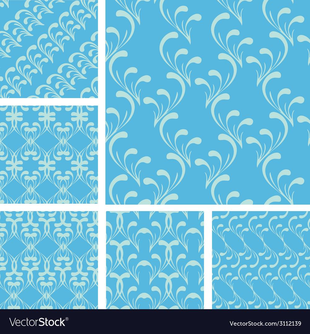 Set zavvitki blue 380 vector | Price: 1 Credit (USD $1)