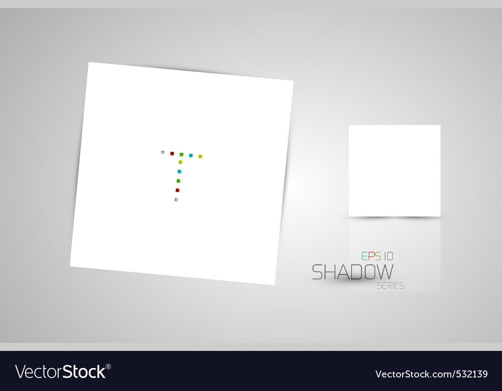 Shadow card vector | Price: 1 Credit (USD $1)