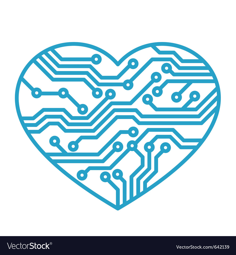 Technology love vector | Price: 1 Credit (USD $1)