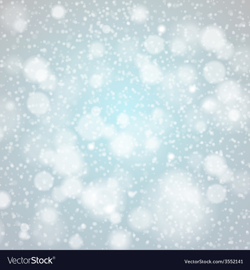Christmas snowflakes background blue light vector | Price: 1 Credit (USD $1)