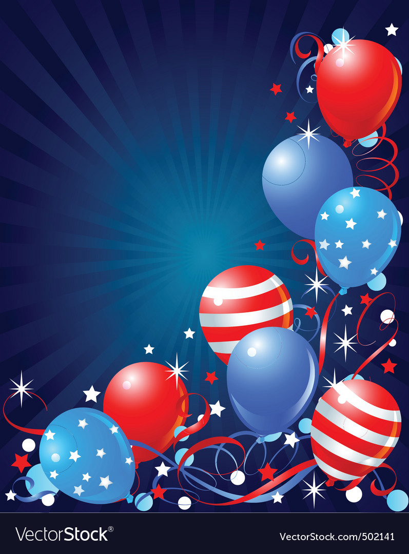 Fourth of july vector | Price: 1 Credit (USD $1)