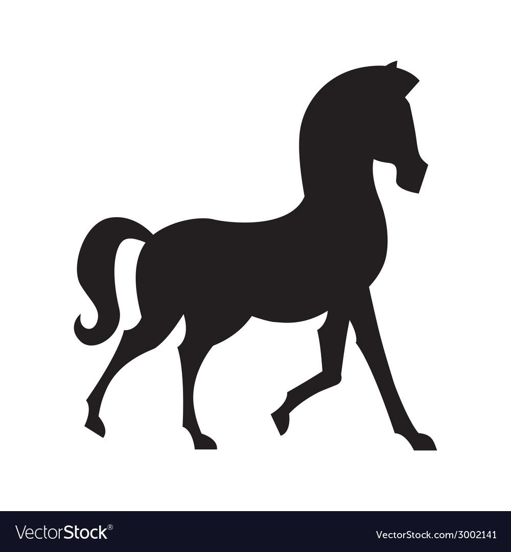 Horse design vector | Price: 1 Credit (USD $1)