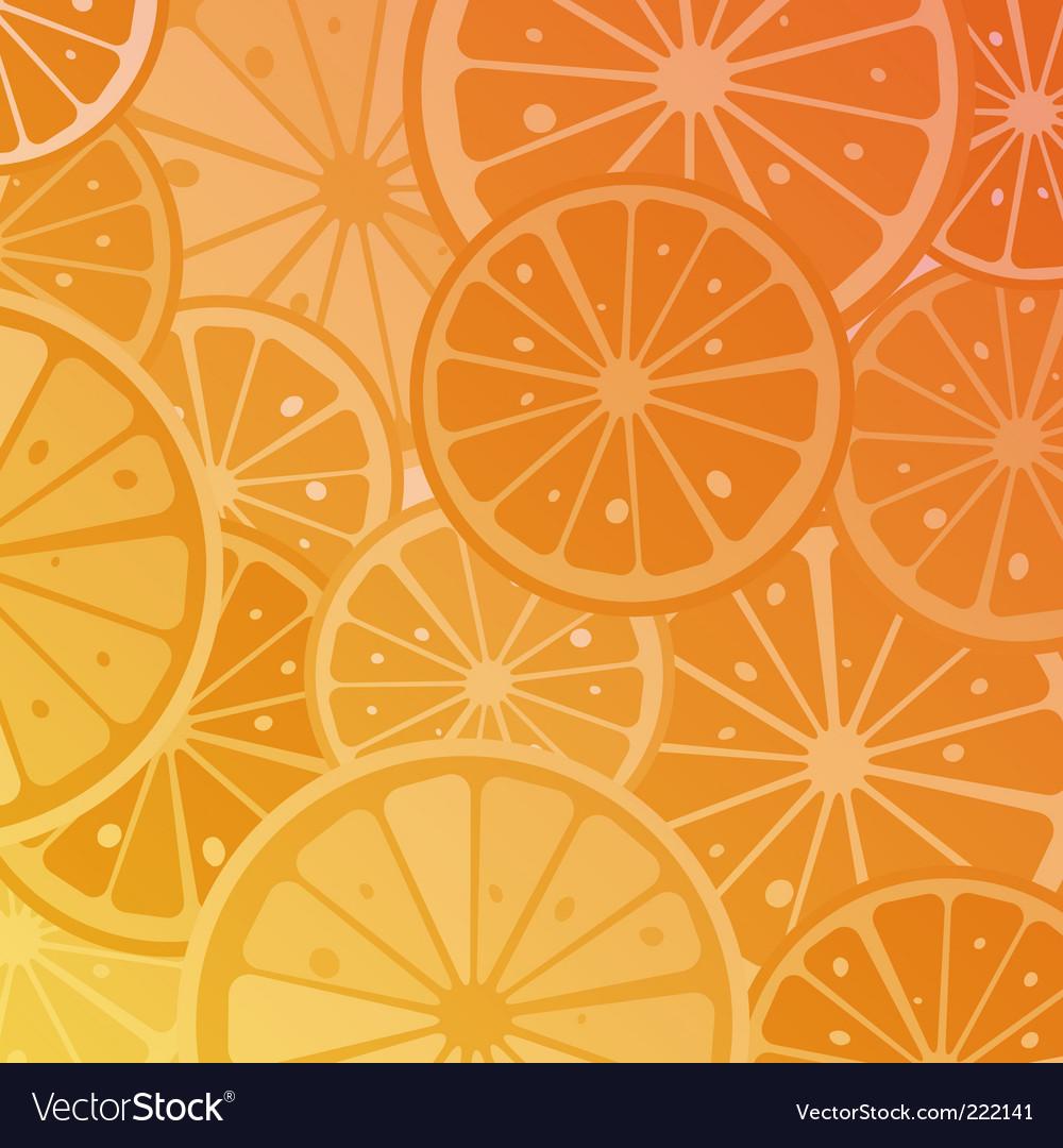 Orange slices vector | Price: 1 Credit (USD $1)