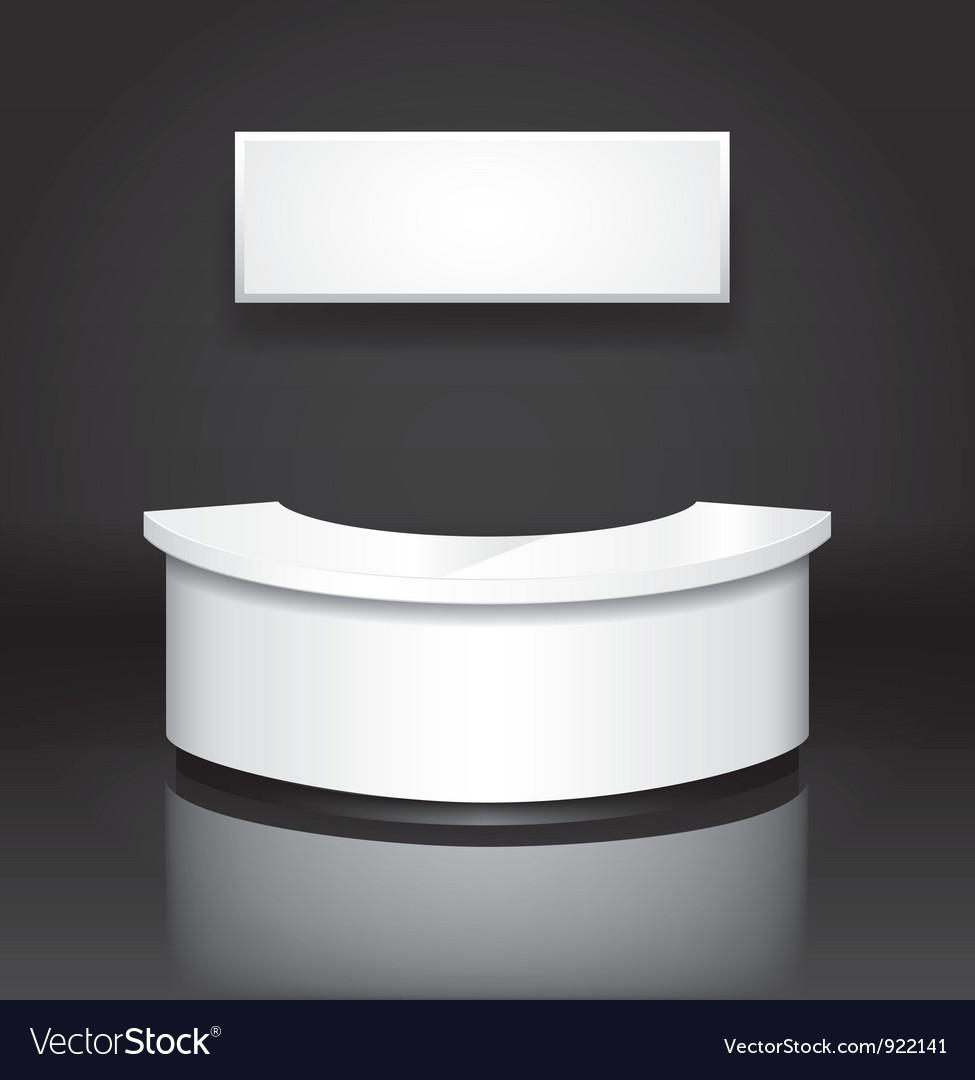 Reception counter vector | Price: 1 Credit (USD $1)