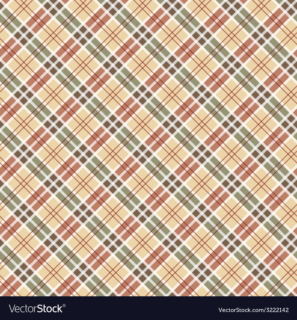 Scottish checked ornament seamless pattern vector | Price: 1 Credit (USD $1)