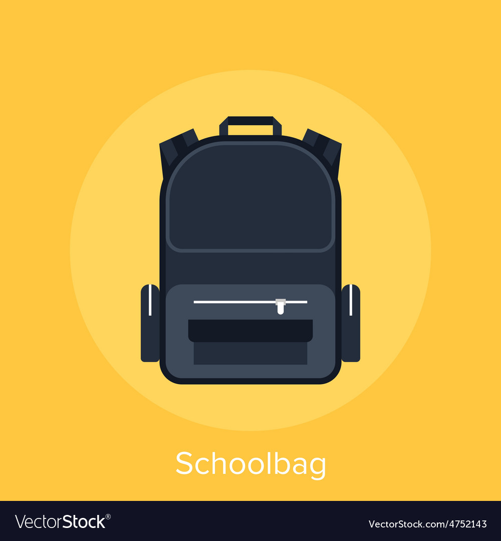 Schoolbag vector | Price: 1 Credit (USD $1)