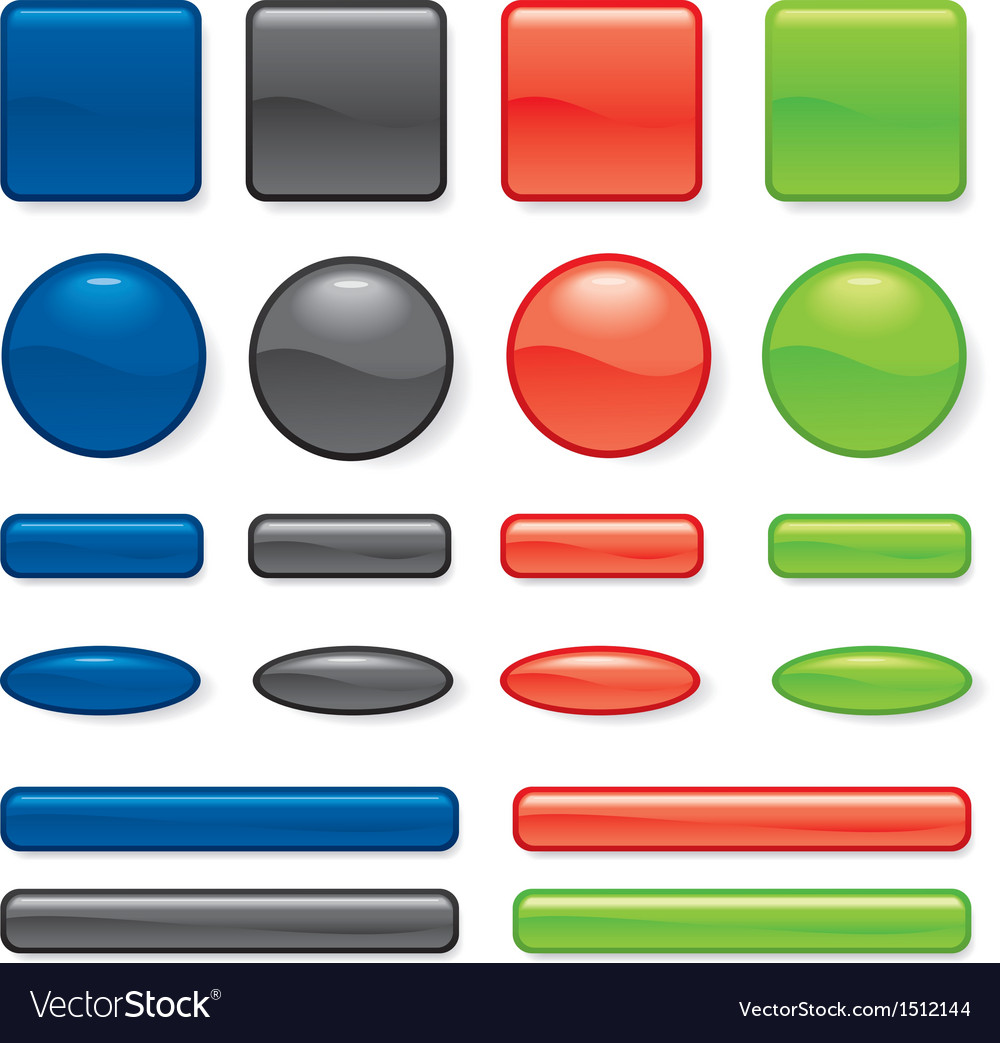 Buttons different vector | Price: 1 Credit (USD $1)