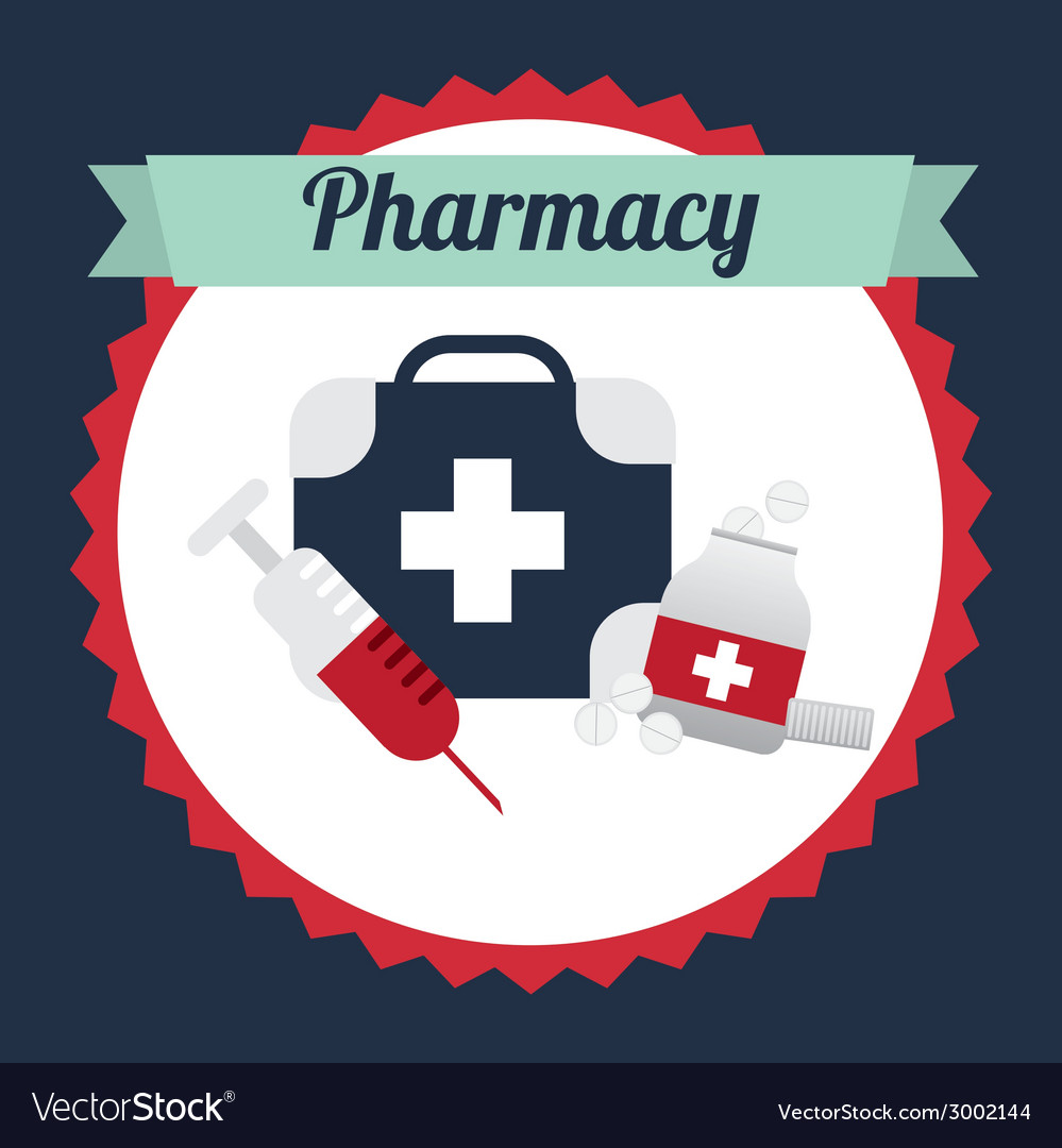 Pharmacy design vector | Price: 1 Credit (USD $1)