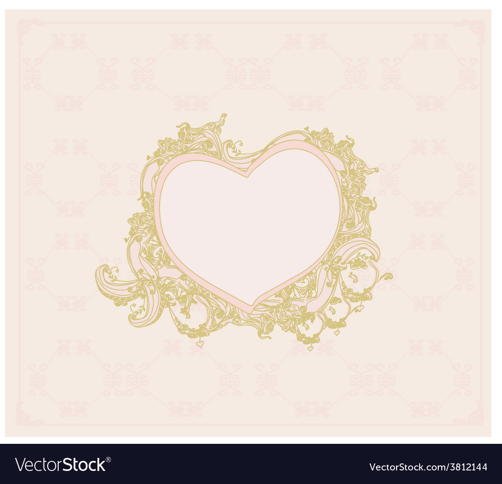 Valentines sweet background with free space for vector | Price: 1 Credit (USD $1)