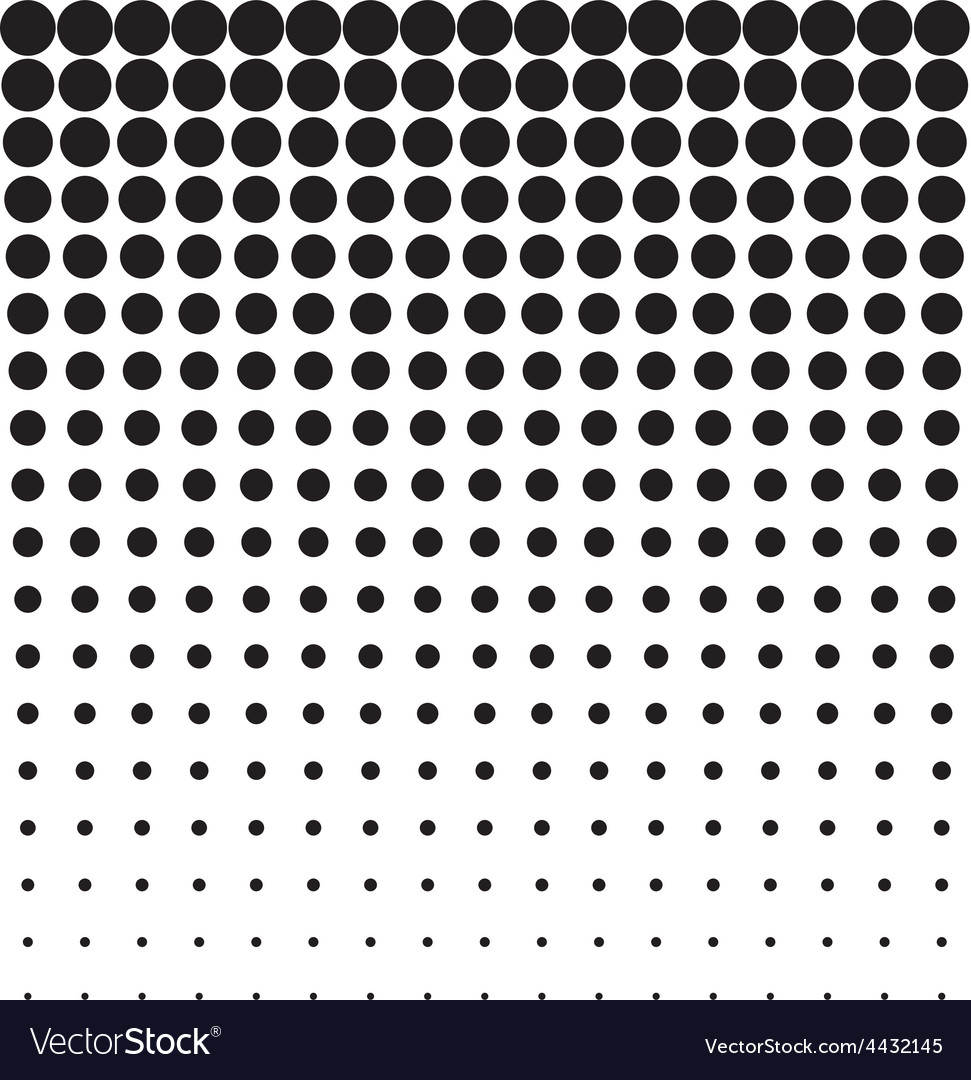 Abstract background black white halftone vector | Price: 1 Credit (USD $1)