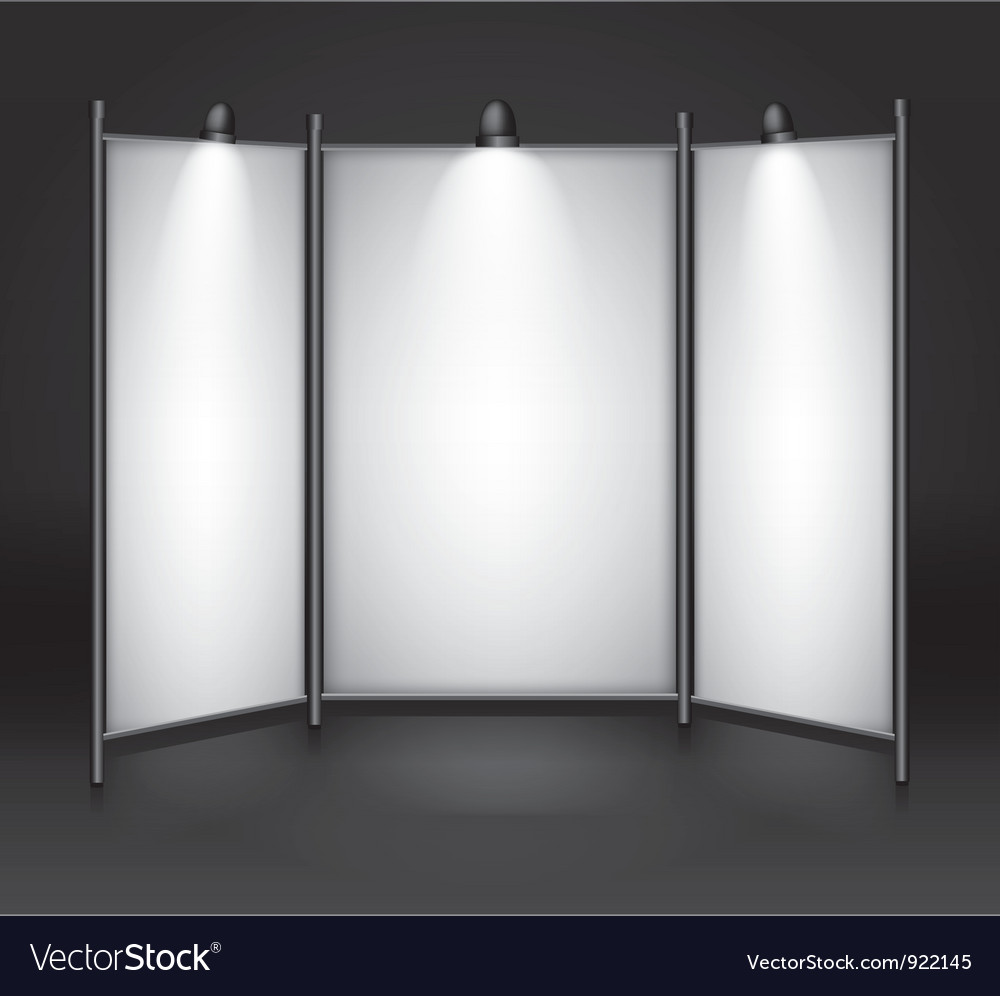 Info booth vector | Price: 1 Credit (USD $1)