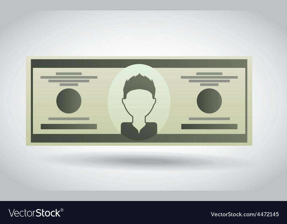 Money icon vector   Price: 1 Credit (USD $1)