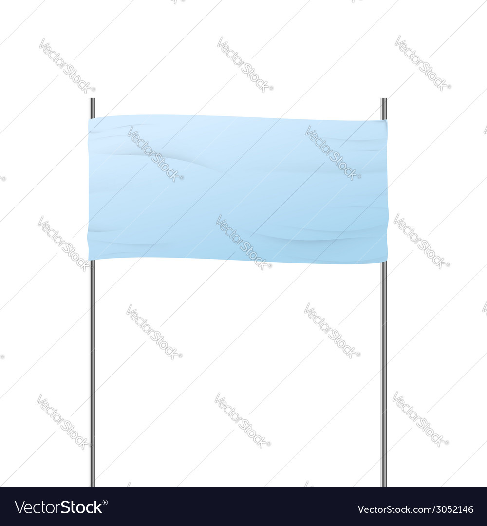 Advertising road banner sign isolated vector | Price: 1 Credit (USD $1)