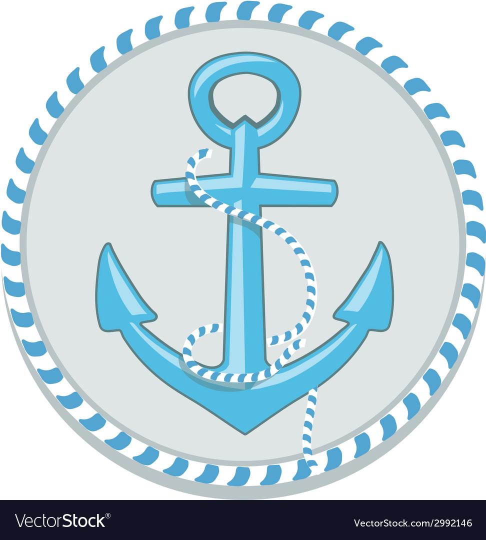 Anchor symbol - vector | Price: 1 Credit (USD $1)