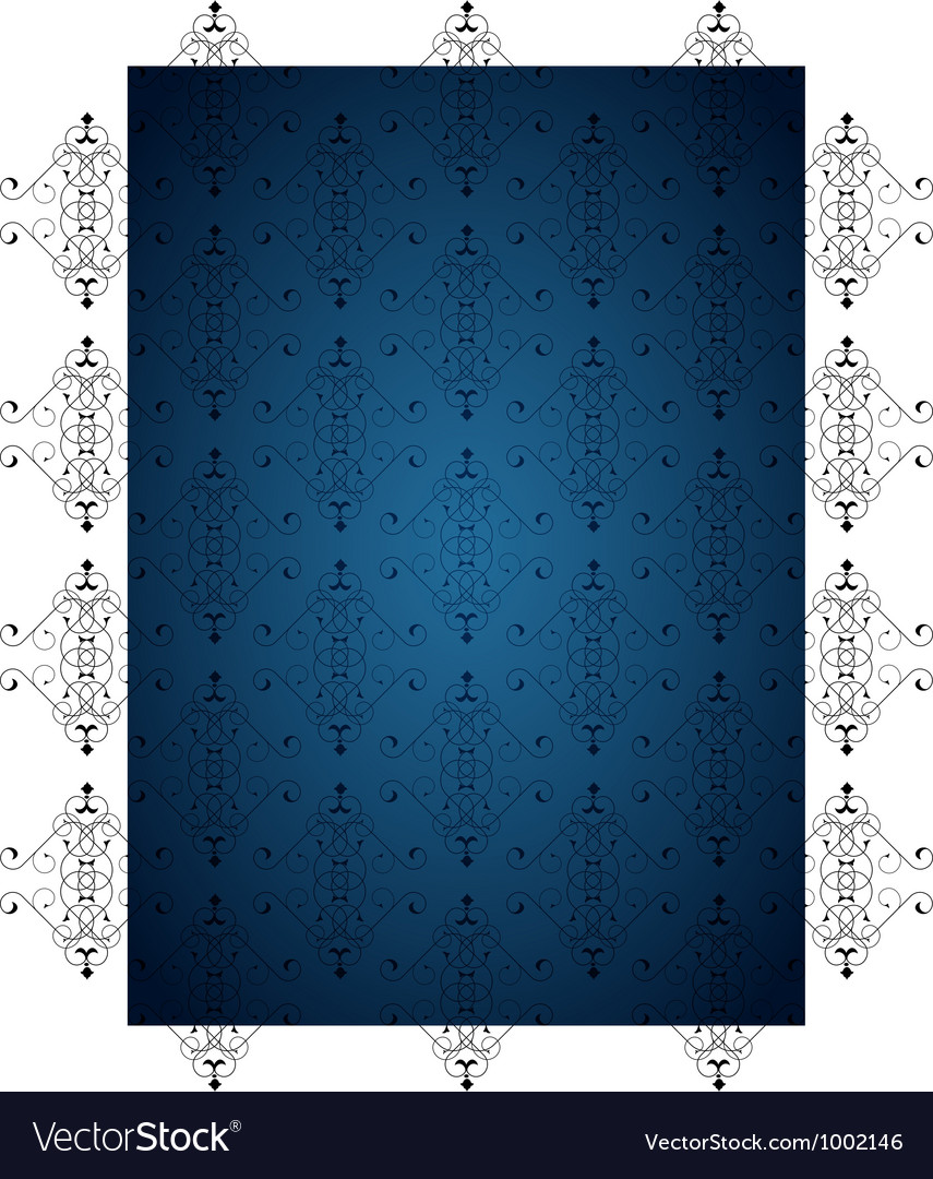 Blue little background vector | Price: 1 Credit (USD $1)
