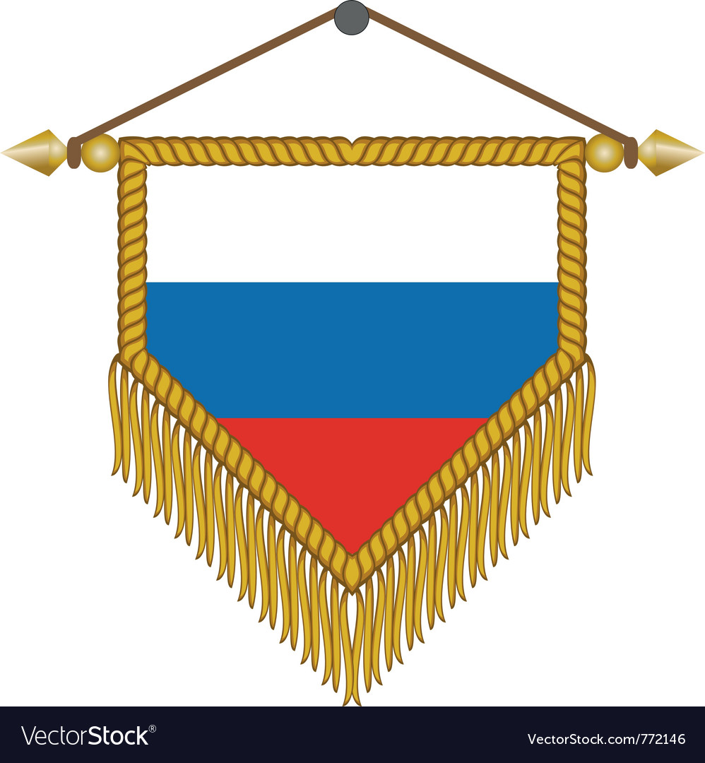 Flag of russia vector   Price: 1 Credit (USD $1)