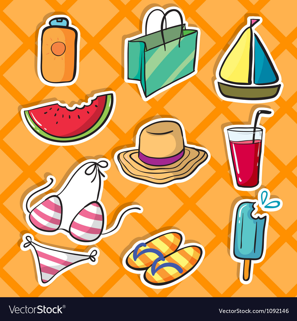 Various objects vector | Price: 1 Credit (USD $1)